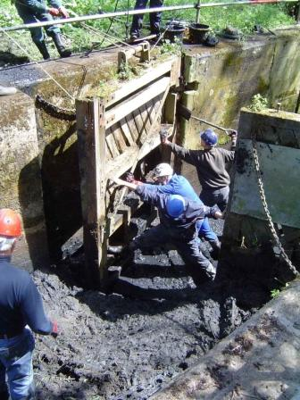 Stratford St Mary Lock Restoration